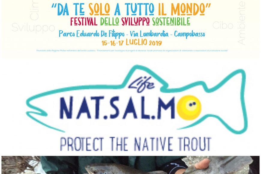 LIFE NatSalMo al Festival dello Sviluppo Sostenibile di Campobasso