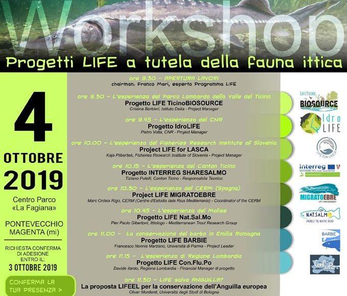Il progetto Life Nat.Sal.Mo al workshop Life Ticino Biosource