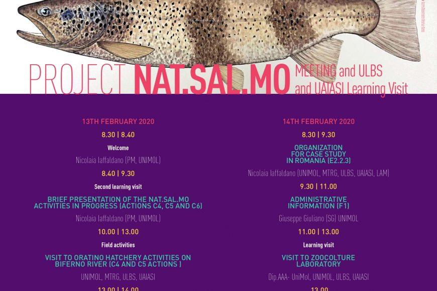 Learning visit – 13-14 febbraio in UNIMOL